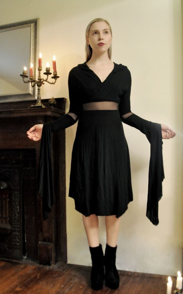 This dress would go great with a pair of knee high doc martens