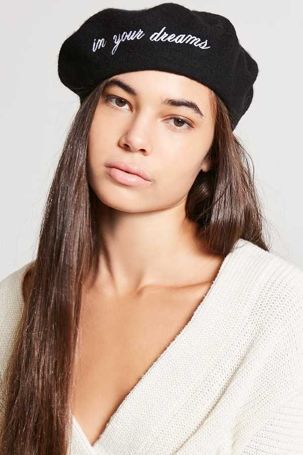 9f8a7235c67 FOREVER 21 In Your Dreams Wool Beret  14