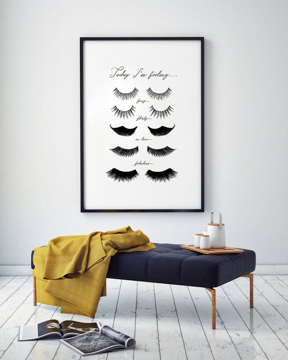 Fashion Wall Decor 34 best eye lashes art images on pinterest | bedroom ideas, home