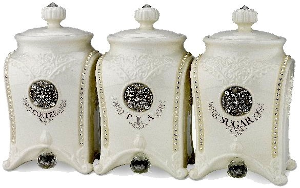 23 best images about canisters on pinterest coffee tea for Hearth and home designs canister set