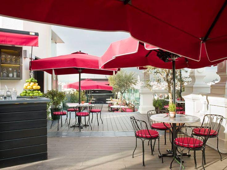 9 best hotel the principal images on pinterest madrid for Terrazas decoradas