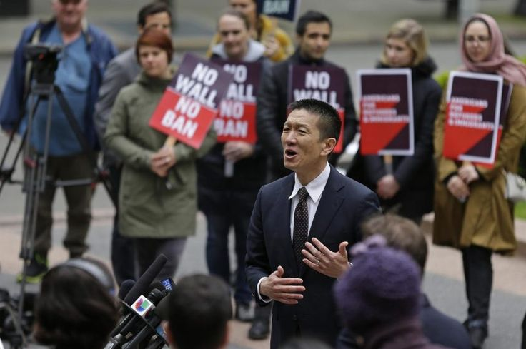 Third Trump Travel Ban Gets Partial Approval From Appeals Court  n this May 15 2017 file photo Hawaii Attorney General Doug Chin center talks to reporters outside a federal courthouse in Seattle. A U.S. appeals court on Nov. 13 allowed President Donald Trumps newest version of the travel ban to partially take effect. Ted S. Warren / Associated Press  Skift Take: The ultimate outcome of the Trump administration's travel ban push is far from over as both sides brace for a protracted battle…