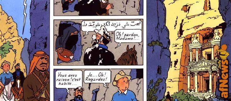 Traffico di esseri umani, attentati, vicino e medio oriente: da Tintin a Paperino - http://www.afnews.info/wordpress/2016/04/01/traffico-di-esseri-umani-attentati-vicino-e-medio-oriente-da-tintin-a-paperino/