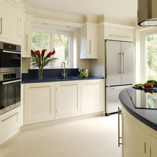 fridge in kitchen. be inspired by a spacious kitchen extension fridge in