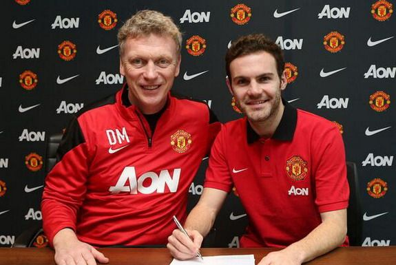 OFFICIAL: Juan Mata becomes Manchester United player