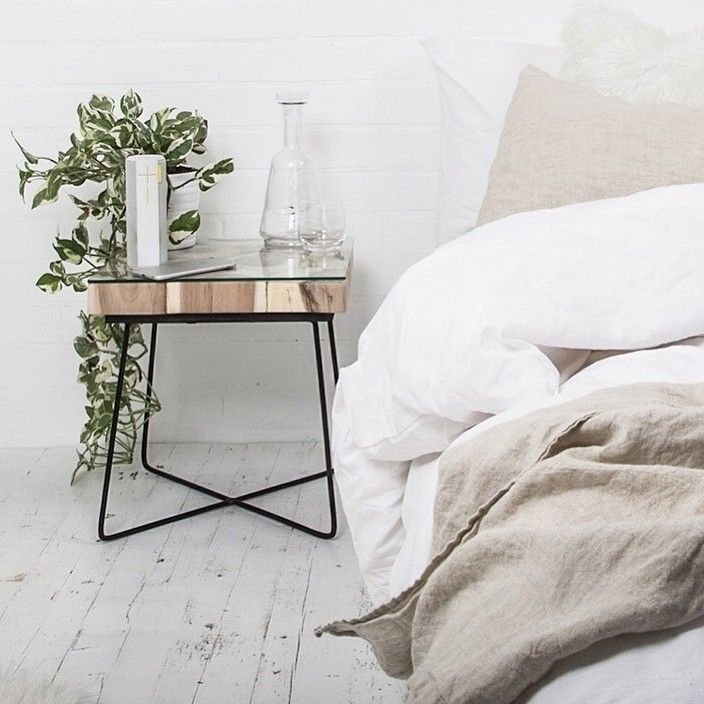 We Love This Copper Bedside Table   The Perfect Size For A Cup Ofu2026