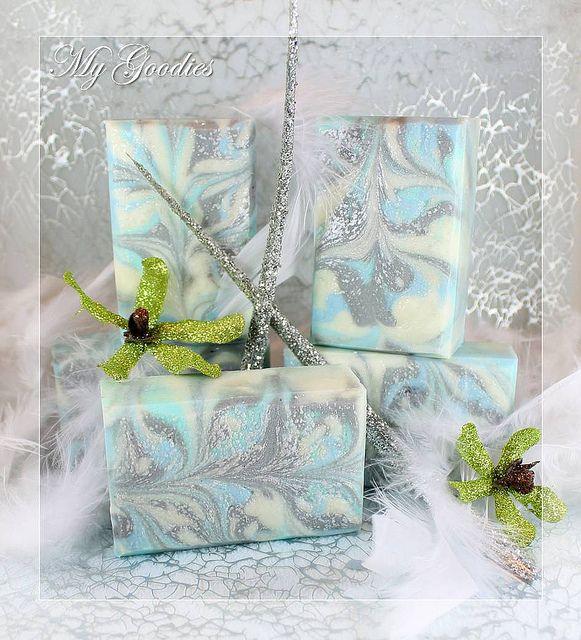 Cold Process Soap Winter Wonderland