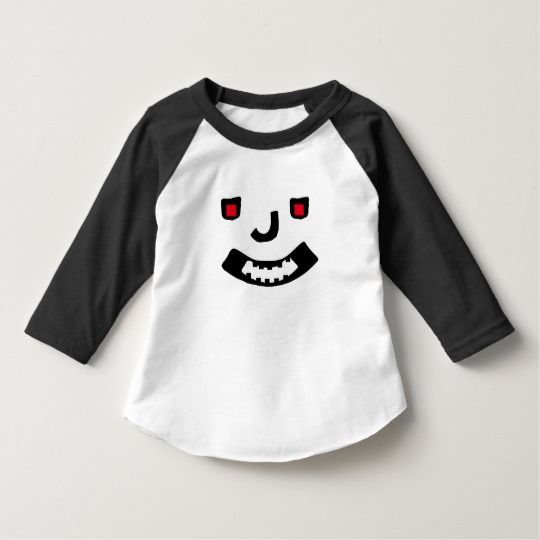Scary Smile Face T-Shirt a abstract scary smile face on a t-shirt with red eyes.