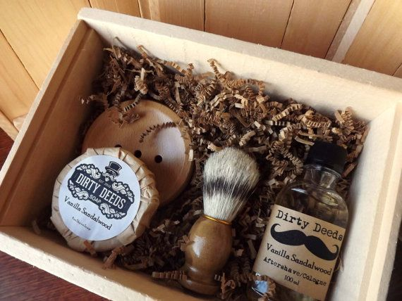 $234 USD but we can get a costum made one...or make our own.... the brush is the hard part. 4 Men's Shave Set in Deluxe Wood Box with Aftershave/Cologne, Boar Brush, Mens Grooming