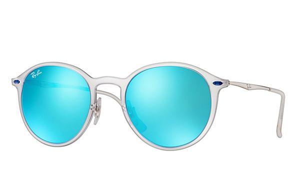 Ray-Ban RB4224 646/55 49-20 Round Light Ray  Sunglasses | Ray-Ban USA