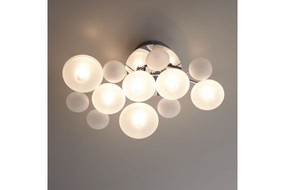 Possini Euro Chrome 19 1/4-Inch-W Ceiling Light
