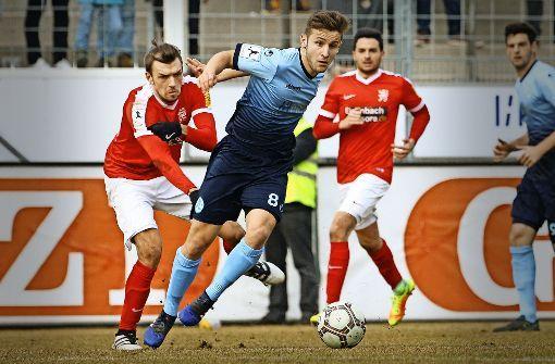 Regionalliga Südwest 16/17: Kickers Stuttgart - Hessen Kassel 1:1
