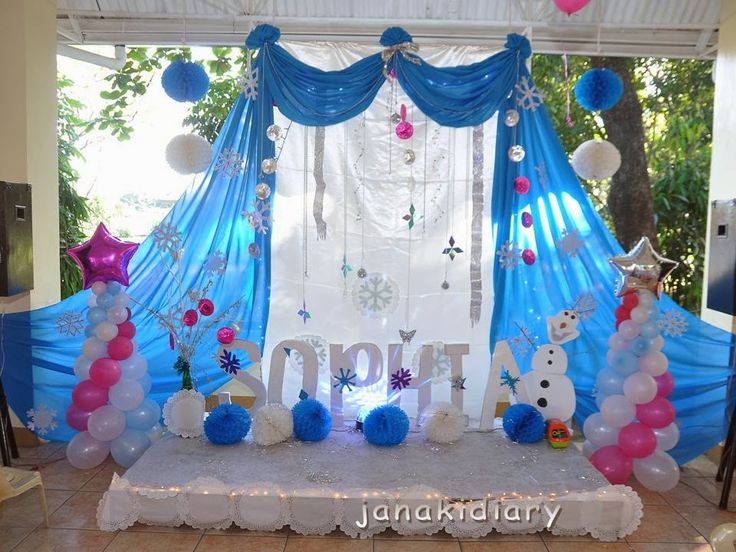 frozen stage decorations google search - Frozen Halloween Decorations