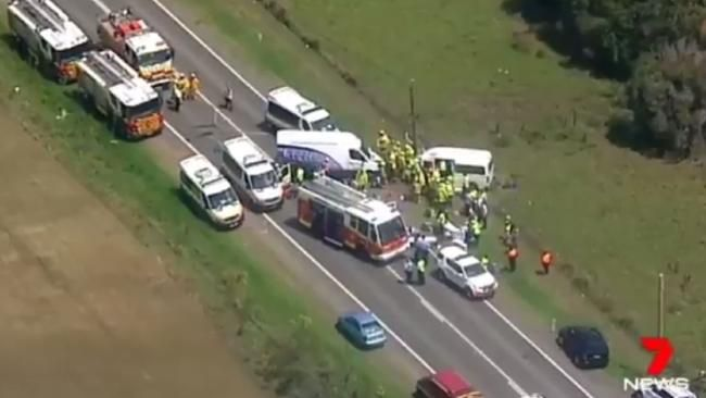 Nine hurt in horror Kemps Creek crash - NEWS.com.au #757Live