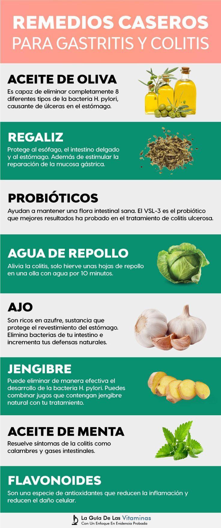 14 Remedios Caseros Para La Gastritis Y Colitis La Guia De Las Vitaminas Colitis Remedies Gastritis Diet Natural Medicine