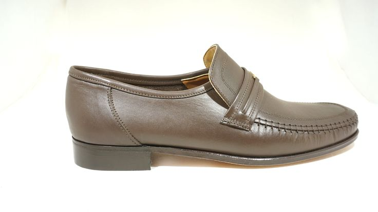 R 899 (Brown) Watson Formal Genuine Leather Slip-On Shoe Handcrafted in South Africa. See online shopping for sizes.  Shop online https://www.thewhatnotshoes.co.za Free delivery within South Africa