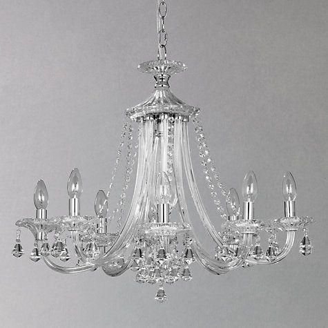 Buy John Lewis Ophelia Crystal Chandelier, 8 Light Online at johnlewis.com