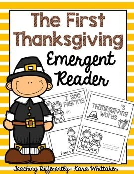 Thanksgiving Emergent Reader & Vocabulary Book: Please enjoy this fun first Thanksgiving freebie! This freebie includes a simple emergent reader and a trace and color vocabulary book. Both books are in black and white for easy printing.**This freebie is included within my First Thanksgiving Activities for Autism!**If you enjoy this, you may also like:Thanksgiving SequencingSequencing Growing BundleEditable Special Education Teacher BinderFor more special education and autism resources, f...