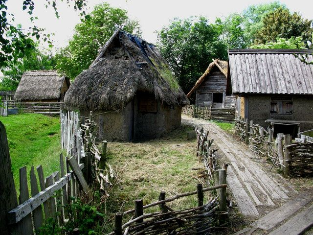 Quot Reconstructed Quot Viking Settlement From Around 900 Ad