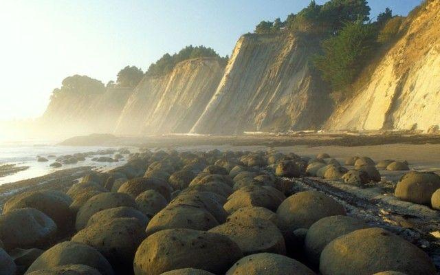 Bowling Ball Beach - Καλιφόρνια, ΗΠΑ