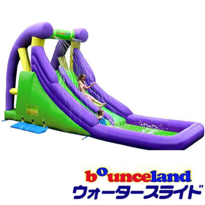 楽天市場 大型遊具 バウンスランド ダブル ウォータースライド