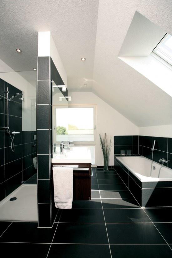 fertighaus.net - Wohnideen - Badezimmer FINO