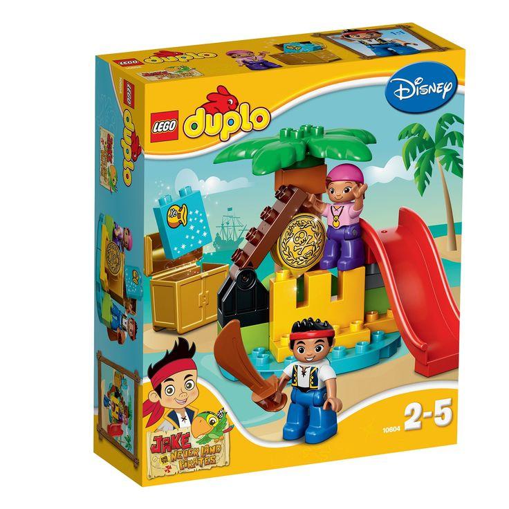 LEGO DUPLO - Jake si Comoara Piratilor din Tara de Nicaieri