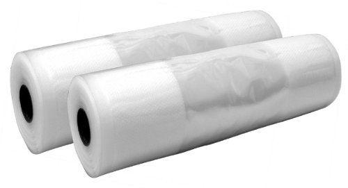 Duhalle Set de 2 Rouleaux de Gaine pour Emballage Sous Vide: 2 rouleaux de gaine pour machine à faire le vide d'air conservation idéale des…