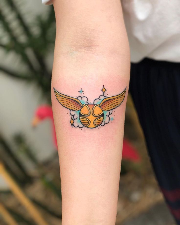 19 Harry Potter Tattoos For Wizards Muggles And Mudbloods Alike Harry Potter Tattoos Harry Potter Tattoo Small Harry Potter Tattoo