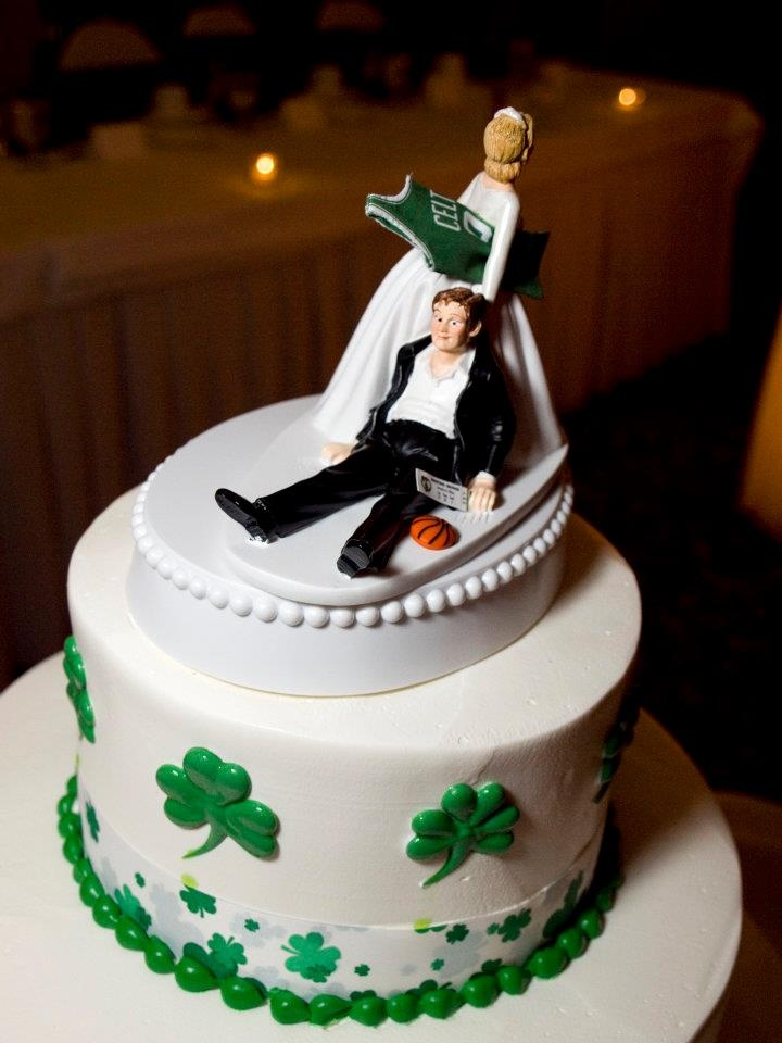 Boston Celtics Cake Topper Hahah Yes Please