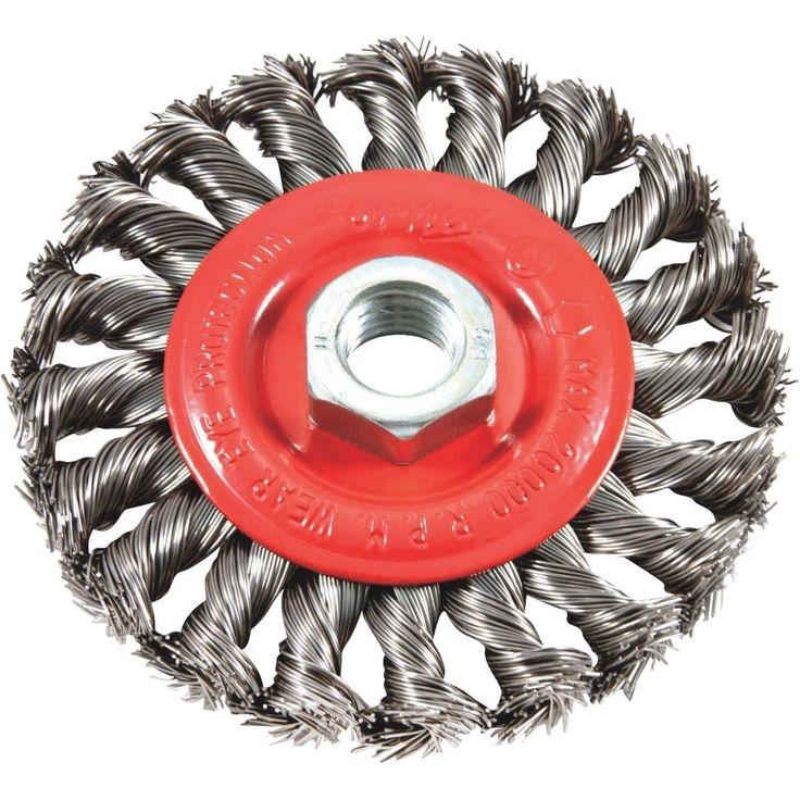 Forney 4 Twist Knot Wire Wheel