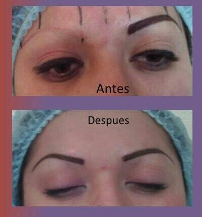 maquillaje cejas permanente