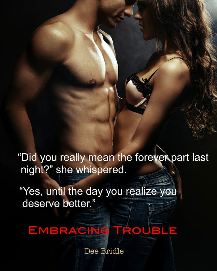 Embracing Trouble Teasers