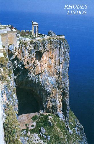 Lindos Acropolis, Rhodes, Greece i have been there ...It is gorgeous...