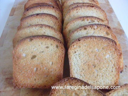 La Regina del Sapone: fette biscottate vegan (no olio di palma o margari...