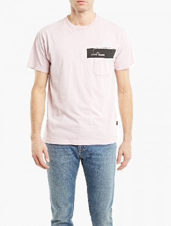Stone Island Pink Cotton Logo T-Shirt The Stone Island Cotton Logo T-Shirt for SS17, seen here in pink. - - Crafted from premium cotton and cut to offer a relaxed fit, this t-shirt from Stone Island is finished with the brand™s logo print http://www.MightGet.com/march-2017-2/stone-island-pink-cotton-logo-t-shirt.asp