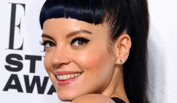 Lily Allen's Braided Hairstyle. #Celebrities #Hairstyles #Braid #LilyAllen