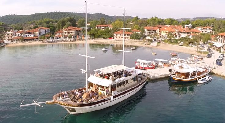 Cruise from Ormos Panagias to Ammouliani & Vourvourou - Athos Sea Cruises