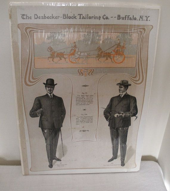 Vintage Tailor Men's Suits Store by WildrosePrimitives on Etsy, $45.00