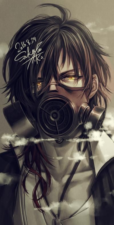 17 best images about the void on pinterest ptsd - Anime girl with gas mask ...