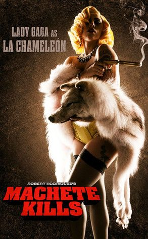 Lady Gaga Makes Her Acting Debut in 'Machete Kill'