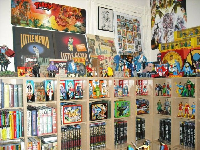 I will have a room for all my Comic Books and Movies.
