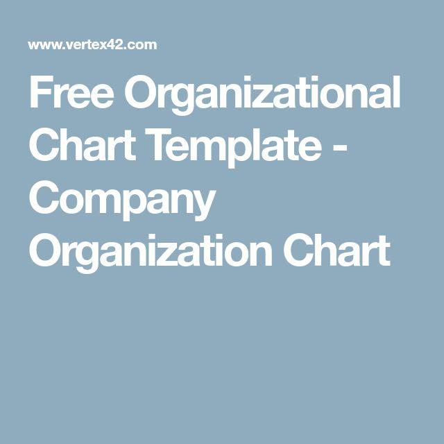 Free Organizational Chart Template - Company Organization Chart - company organization chart