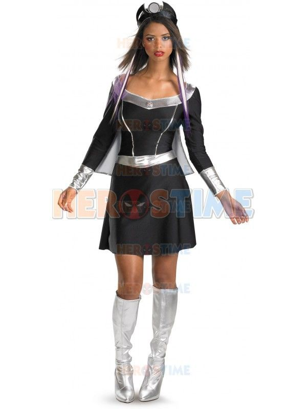 X-men costume female Black & Silver Spandex X-men Storm Superhero costume hot sale halloween cosplay Dress //Price: $US $47.90 & FREE Shipping //     #tshirt
