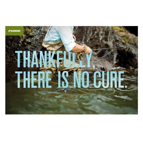 No Cure for fly fishing !!!