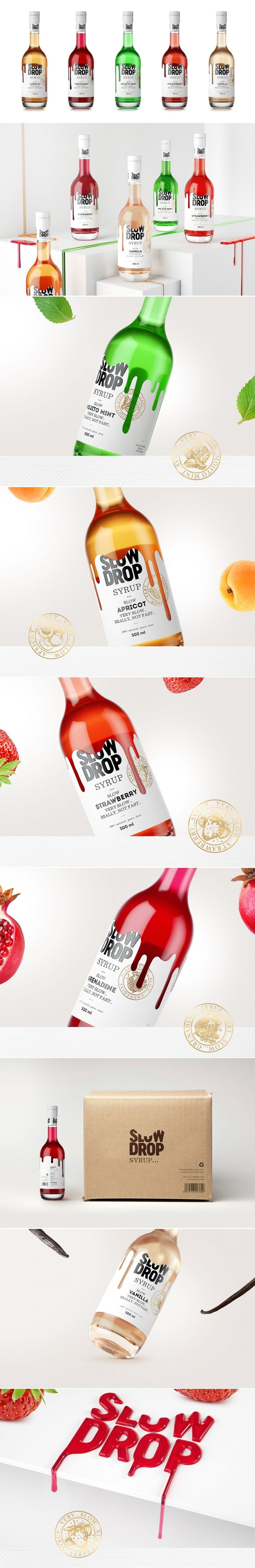 This Cocktail Syrup Is Good to the Last Drop — The Dieline - Branding & Packaging Design