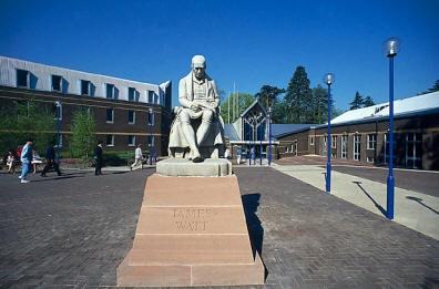 Heiot-Watt University entrance