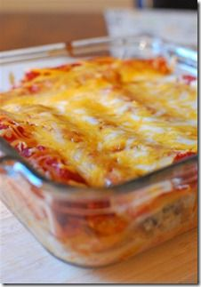 Pasta Chicken Enchiladas | Slimming Eats - Slimming World Recipes