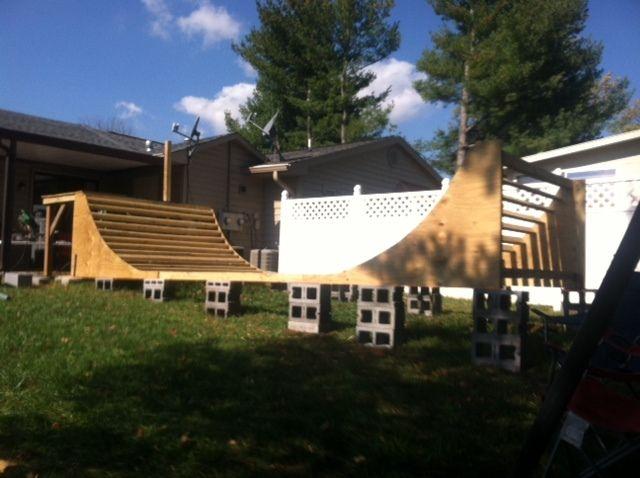 Skateboard Ramp from the Kreg Owners' Community (kregjig.ning.com)