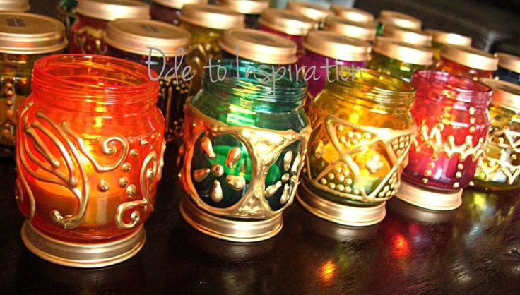Ramadan decorations- candles.